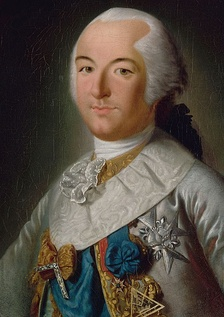 Louis Philippe d'Orléans with the insignia of the grand master of the Grand Orient de France, the governing body of French freemasonry.