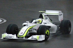 Barrichello at the 2009 Chinese Grand Prix