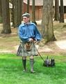 Шотландец со скотчтерьером