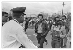 SNCC protesters in Montgomery, March 17, 1965