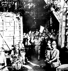 Surrender of US forces at Corregidor, Philippines, May 1942