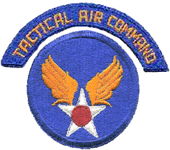 1946 USAAF Tactical Air Command shoulder patch