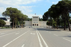 The University of Tirana is the largest and highest ranking university in the country.