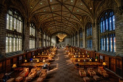 ESSEC partner University of Chicago's Harper Library