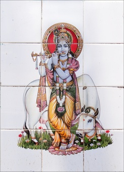 The longest part of the Vishnu Purana is dedicated to the legend of Krishna (above).