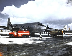 60th TCG C-54 Skymasters during the Berlin Airlift