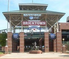 Chickasaw Bricktown Ballpark, home of the Oklahoma City Dodgers and the Big 12 Baseball Tournament