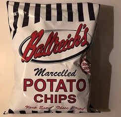 Ballreich's Potato Chips from Tiffin.