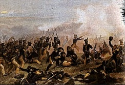 American Infantry attacks at Lundy's Lane