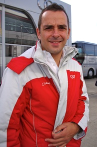 Benoît Tréluyer (pictured in 2013) was afflicted with multiple issues with his Audi