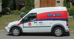 Ford Transit Connect of Canada Post