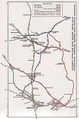 Railway lines around Hemsworth and South Emsall; Moorthorpe, Hickleton, Bolton-upon-Dearne, and Swinton in 1910
