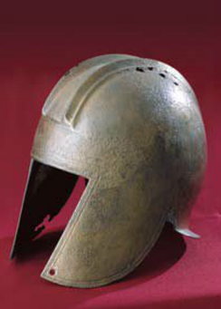 Illyrian helmet from Budva (4th century BC)
