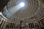 Dome: Interior of the Pantheon from Rome