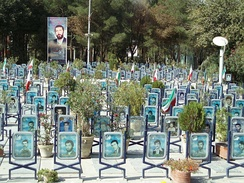 Iranian Martyr Cemetery in Isfahan