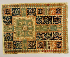 "Charbagh on an incomplete Persian ""garden carpet"", 17th century"