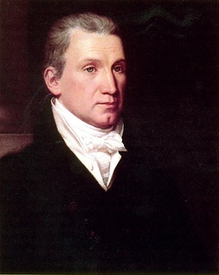 President James Monroe, who signed the Missouri Compromise[6]