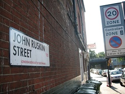 John Ruskin Street in Walworth, London