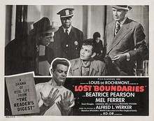 Lobby card for Lost Boundaries (1949)
