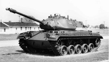 M41 Walker Bulldog, the main battle tank of the ARVN
