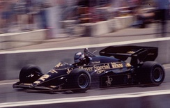 Lotus finished third in the 1984 Formula 1 World Championship for Manufacturers.