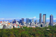 Mexico City – The largest metropolitan area in the Americas, with a population of 22,300,000 in 2017.