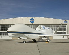 A Global Hawk at NASA's Dryden Flight Research Center