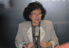 Nilcéa Freire, the minister of the Special Office of the secretary of Politics for women.