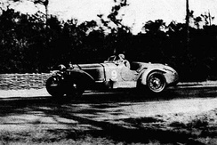 Philippe Étancellin, the winner of the 1934 Le Mans