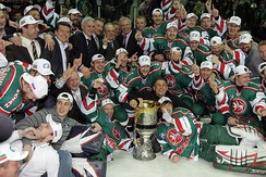 KHL finals, the league is considered to be the second-best in the world