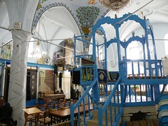 The 15th-century Abuhav synagogue, established by Sephardic Jews in Safed, Northern Israel.[116]
