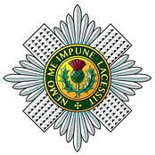 Regimental badge of the Scots Guards.
