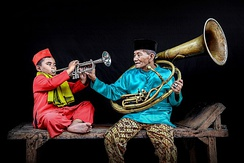 Tanjidor music of Betawi culture demonstrate European influence