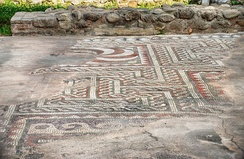 Ancient mosaics from the 3rd century.