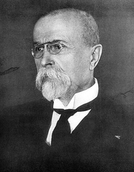 Tomáš Garrigue Masaryk, the founding father and first President of the Czechoslovak Republic