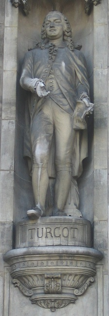Statue of Turgot at the Hôtel de Ville, Paris
