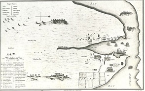 Map of Sydney Cove published 24 July 1789