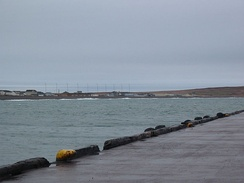 10 wind turbines provide power to the settlement of Miquelon, Miquelon-Langlade