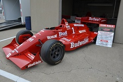 1988 Pocono 500 winning car driven by Bobby Rahal.