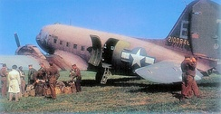 47th TCS Douglas C-47A-70-DL Skytrain Serial 42-100646. This aircraft is still airworthy and is flown by the Dutch Dakota Association.