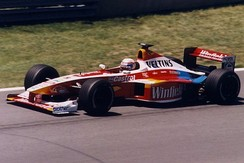 Zanardi driving for Williams at the 1999 Canadian Grand Prix