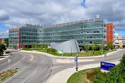 Biomedical Science Research Building at the UM Medical School supports the Michigan Life Sciences Corridor.