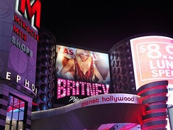 The venue of Britney Spears's concert residency at the Planet Hollywood Las Vegas