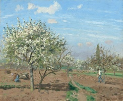 Orchard in Bloom, Louveciennes, 1872