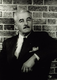 "Actor John Mahoney was selected for the part of W.P. Mayhew ""because of his resemblance to William Faulkner"" (pictured).[80]"