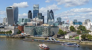 The City of London, one of the largest financial centres in the world[236]