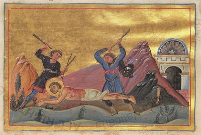 Martyr Domninus of Thessalonica.