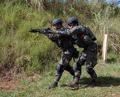 Para-SAR unit in the fight against terrorism.