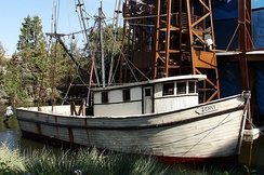 The shrimping boat Jenny used in the film.