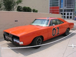 The General Lee on public display